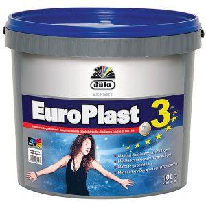 DUFA EURO PLAST 3 matiniai dažai luboms ir sienoms