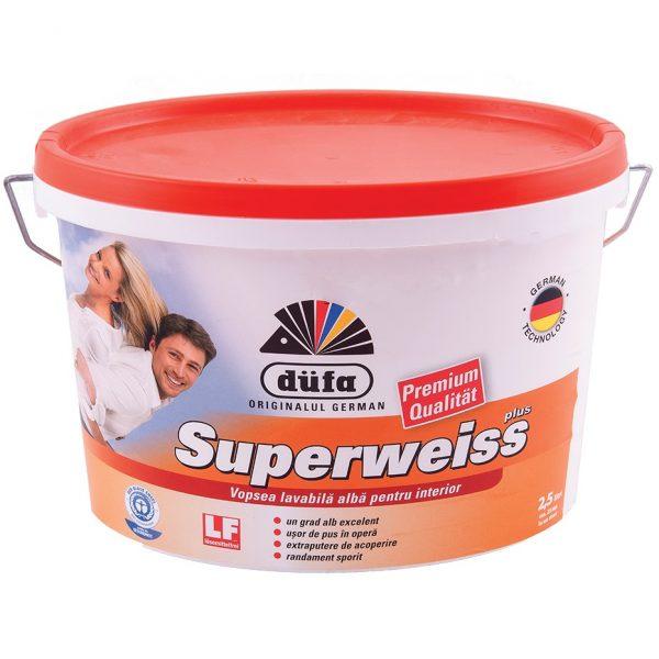 DUFA SUPERWEISS lubų ir sienų dažai