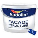 SADOLIN FACADE STRUCTURE struktūriniai dažai