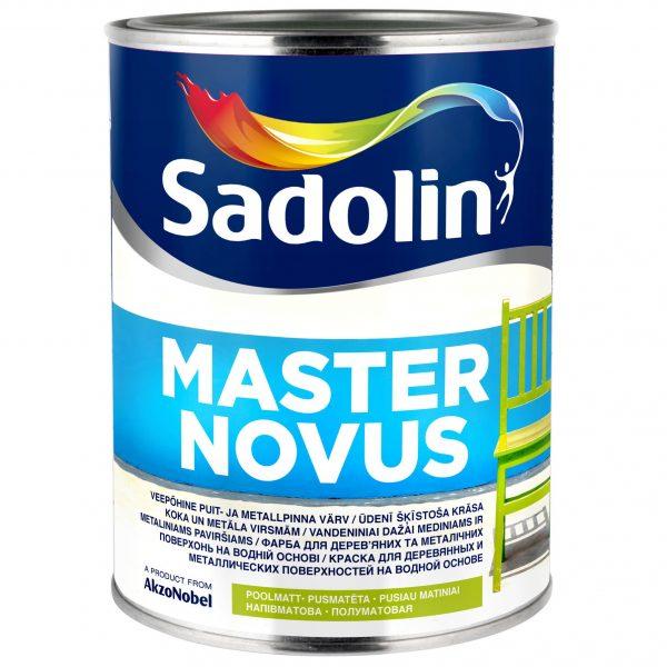 SADOLIN MASTER NOVUS vandeniniai alkidiniai dažai