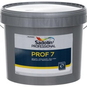 SADOLIN PROFESSIONAL PROF 7 matiniai sienų dažai
