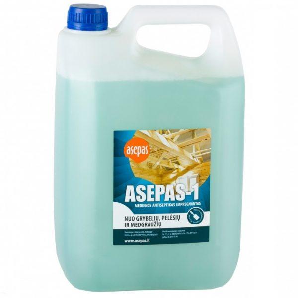ASEPAS - 1 medienos antiseptikas, impregnantas