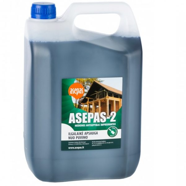 ASEPAS - 2 medienos antiseptikas, impregnantas