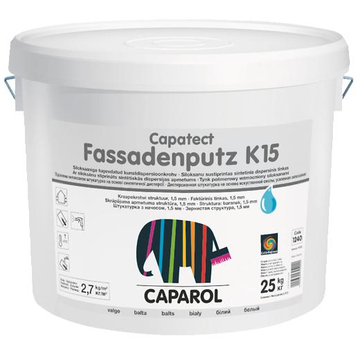 CAPAROL CAPATECT FASSADENPUTZ R ir K tinkas