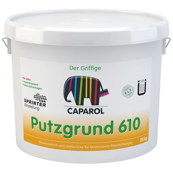 CAPAROL PUTZGRUND 610 gruntas