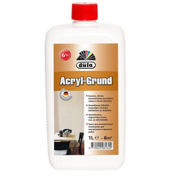 DUFA ACRYL - GRUND bespalvis gruntas
