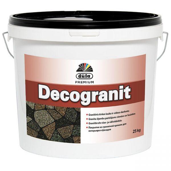 DUFA PREMIUM DECOGRANIT mozaikinis granito grūdelių tinkas