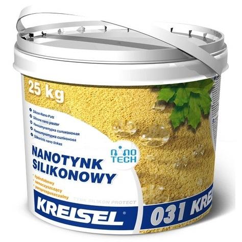 KREISEL SILIKONPUTZ PROTECT 031 silikoninis dekoratyvinis tinkas