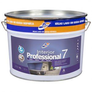 RILAK INTERIOR PROFESSIONAL 7 plaunami dažai sienoms ir luboms