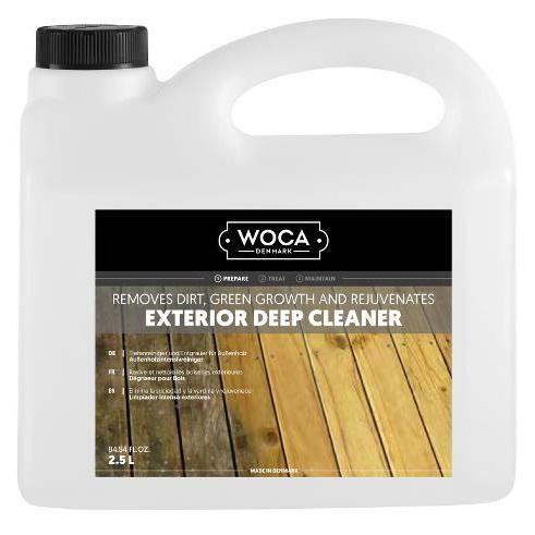 WOCA EXTERIOR DEEP CLEANER terasų valiklis