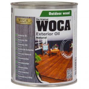 WOCA EXTERIOR OIL NATURAL alyva terasoms