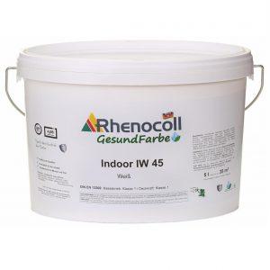 RHENOCOLL INDOOR IW 45 WEISS giliai matiniai sienų dažai