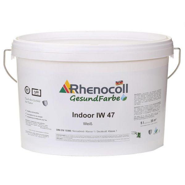 RHENOCOLL INDOOR IW 47 WEISS šilko matiniai sienų dažai