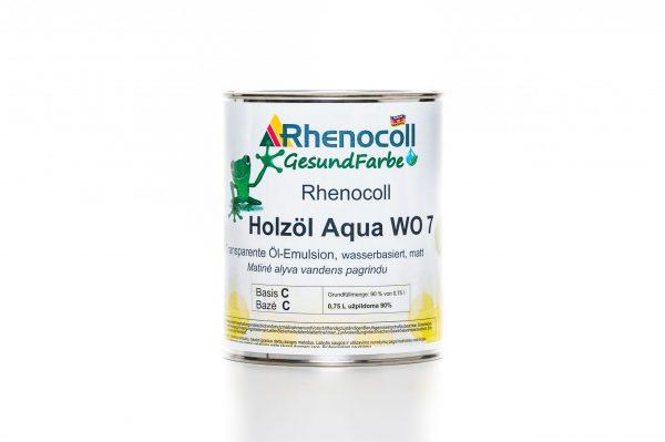 RHENOCOLL HOLZOL AQUA WO 7 aliejaus emulsija maža pakuotė